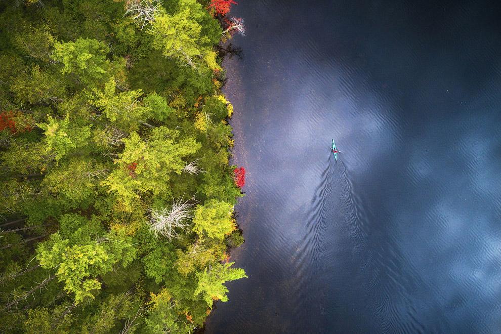 14. Патагония — земля ветров и облаков. А тут и линтикулярные облака еще есть. Облака обычно зависаю