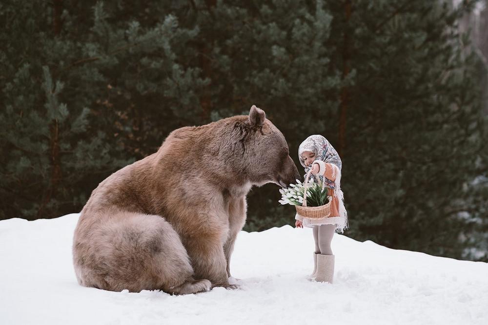 Фотосессии с настоящими животными: фотограф Ольга Баранцева