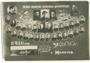 Военно-морское авиационное училище. Молотов. 1940 г.