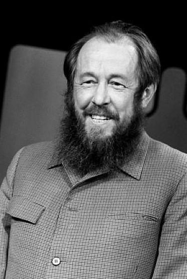 Solzhenitsyn en 1975.AFP.j