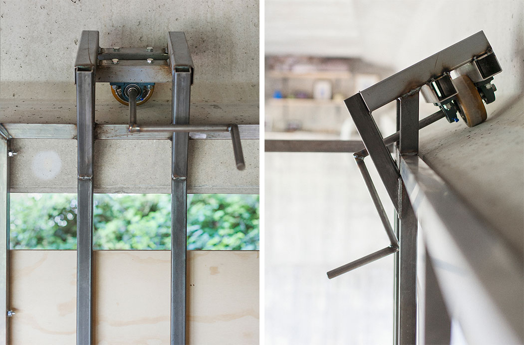 A Secret Work Studio Suspended Below a Highway Overpass by Fernando Abellanas