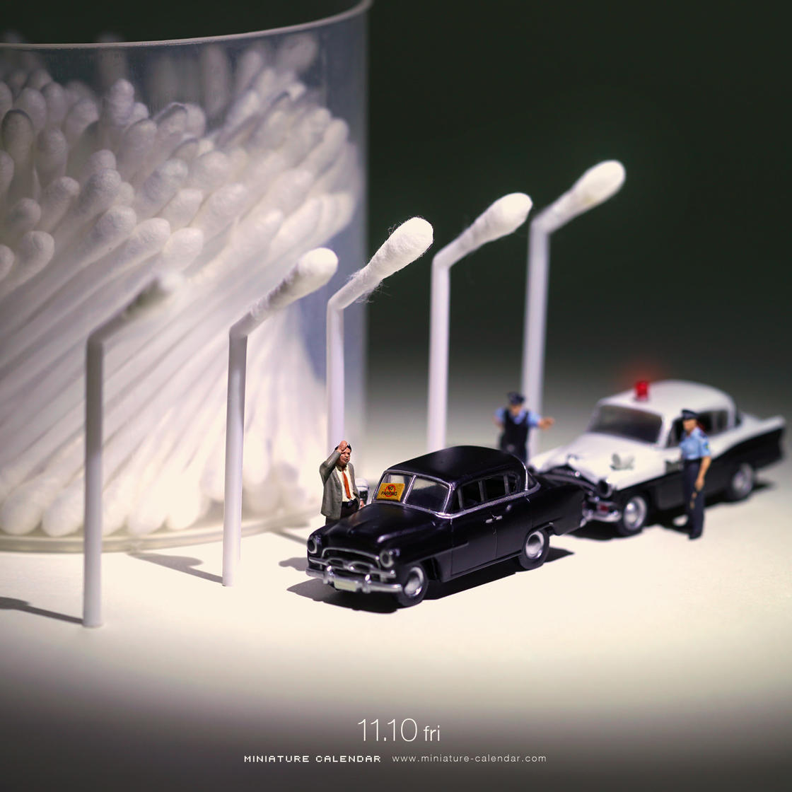 Miniature Calendar – The latest adorable creations by Tanaka Tatsuya