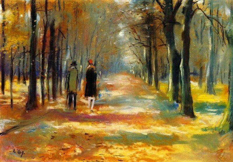 Прогулка в лесу. Лессер Ури