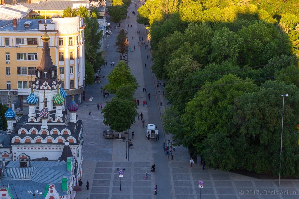 Улица Волжская с высоты фото 4