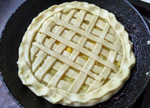 Сочни, пирог лимонный