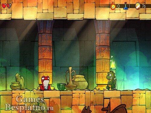 Wonder Boy: The Dragons Trap (русская версия)