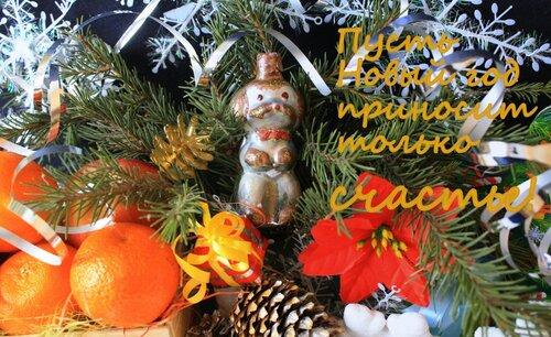 Пусть Новый год приносит только счастье!