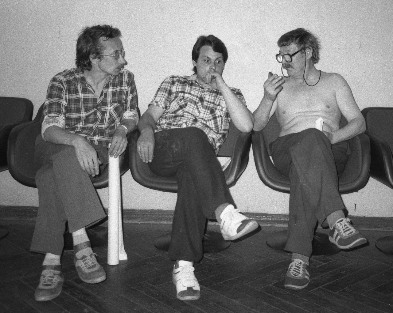 Фотографы Сергей Королёв, Александр Николаев, Борис Михалёвкин. 1980-е