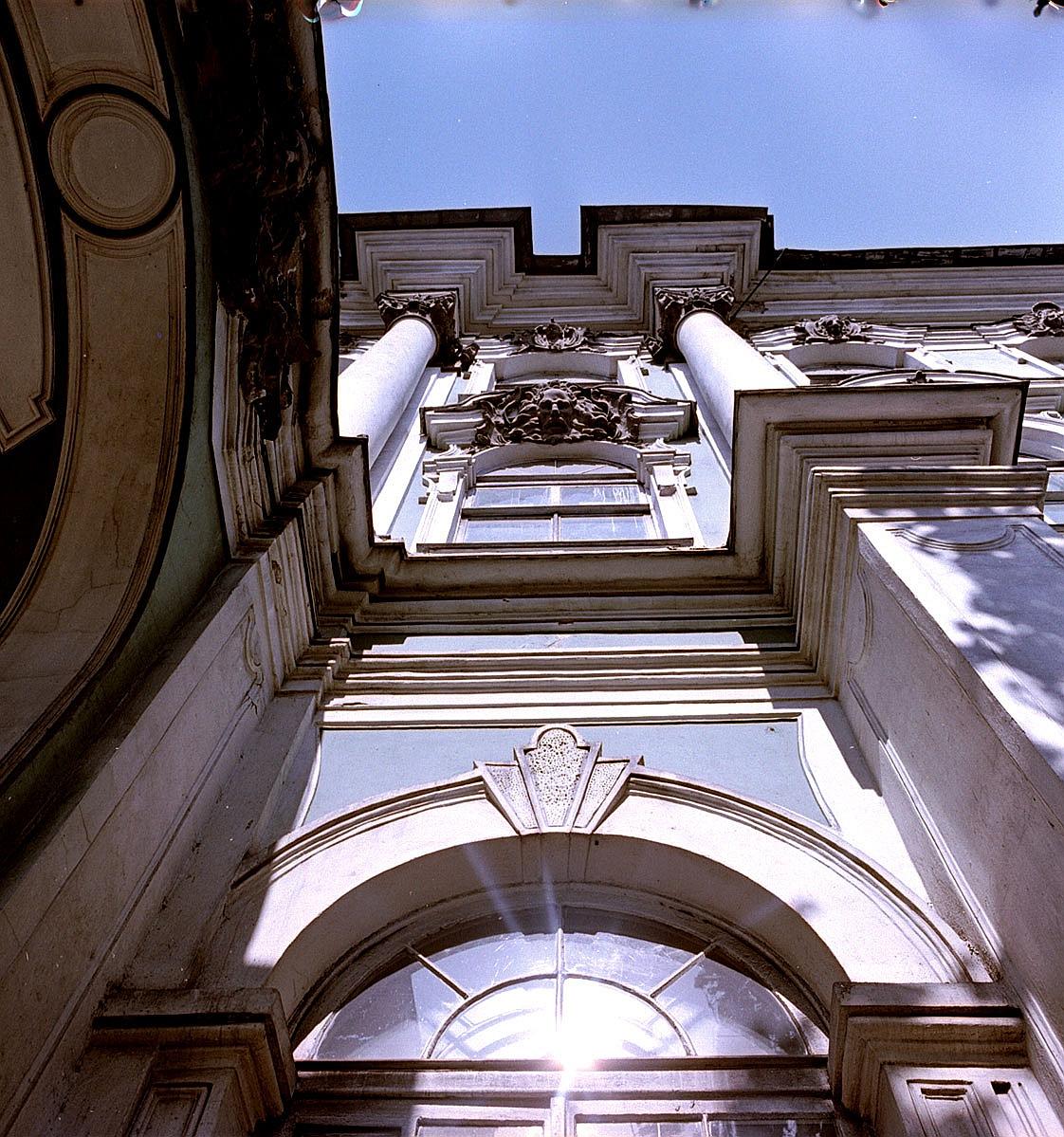 Часть фасада Зимнего дворца