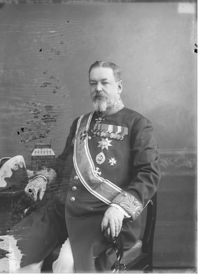 М.С. Фон-Брин - предводитель дворянства