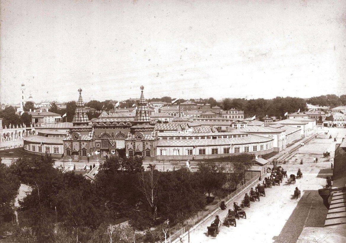 Общий вид павильонов Международной Казанской выставки