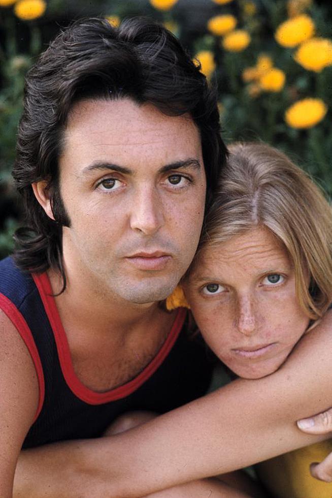 1971. Пол и Линда Маккартни
