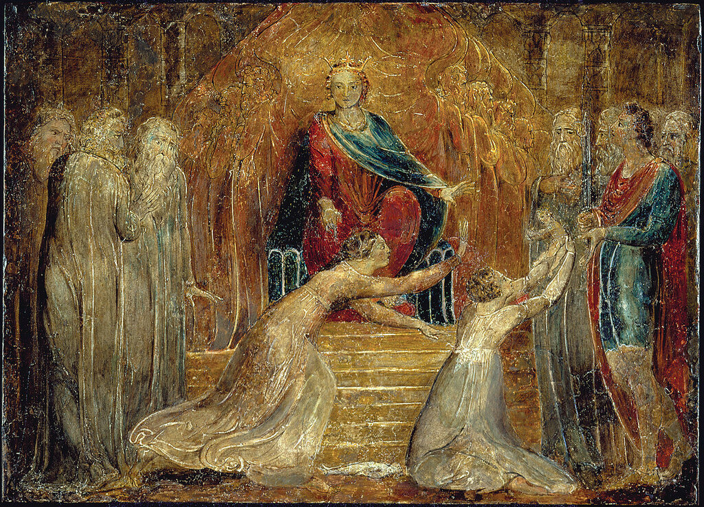 William_Blake_-_The_Judgment_of_Solomon.jpgок. 1800.jpg
