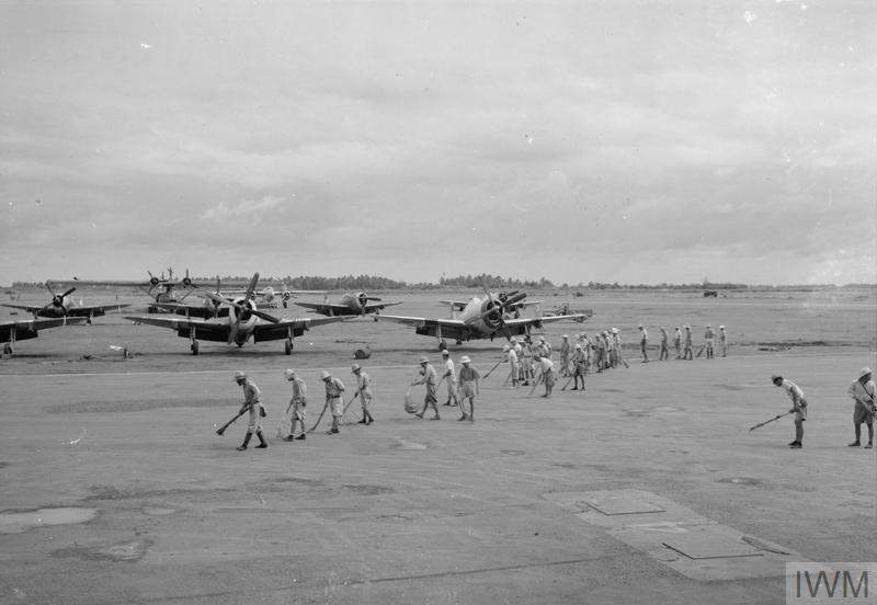 THE ROYAL AIR FORCE IN THE FAR EAST 1945-1946