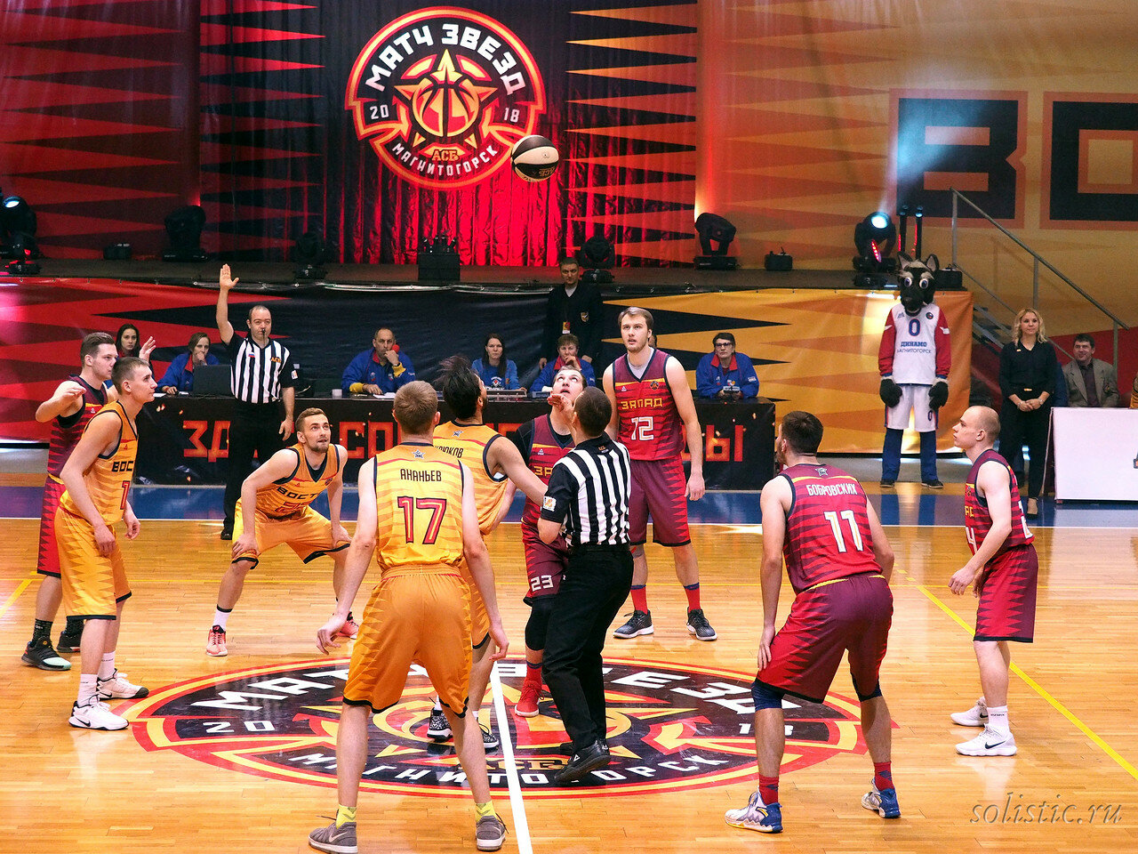 57 Матч звезд АСБ 2018 (ассоциации студенческого баскетбола)