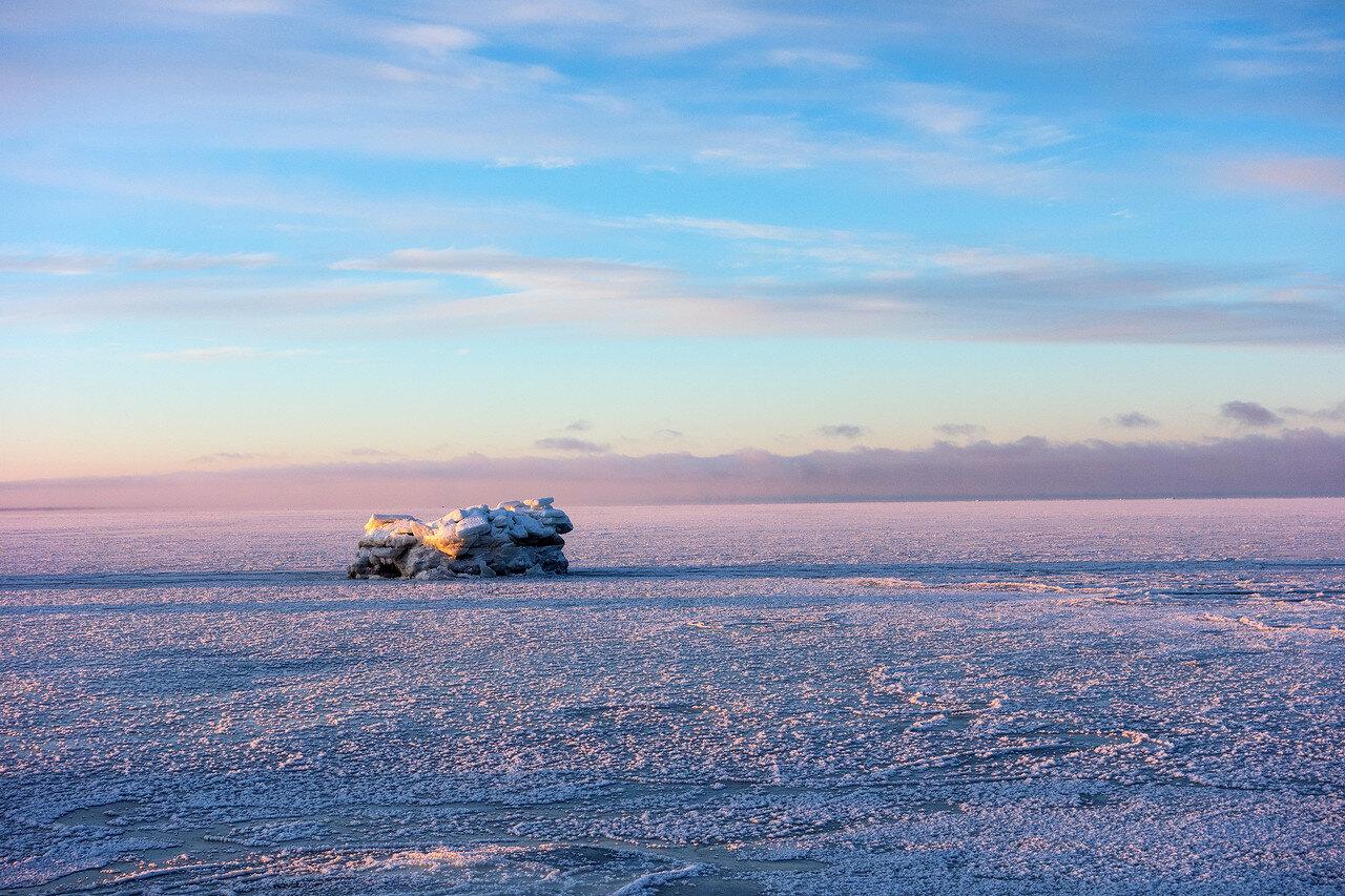 Белое море. -35С