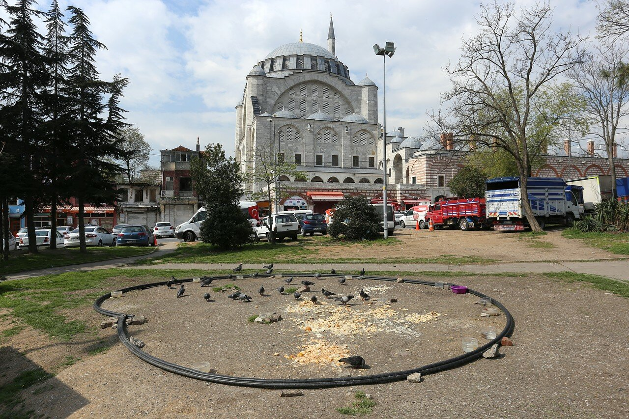 Istanbul. The Area Of The Fatih Sultan Mehmet (Fatih Sultan Mehmet Parkı)