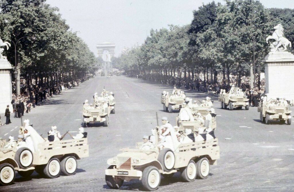 Parade of July 14, 1958