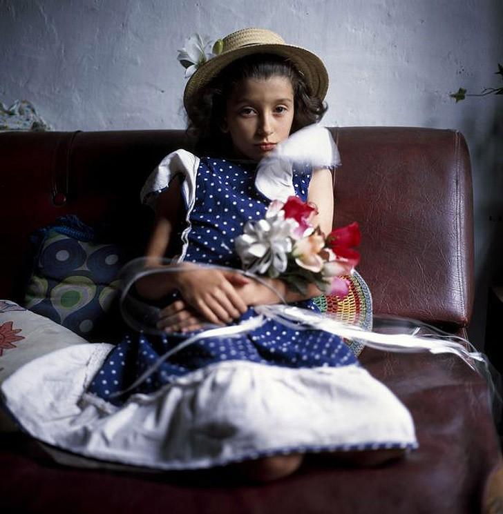 4. Букет Белинды, 1999 Среди фотографий есть работы-наблюдения и работы-постановки. Одни отражают по