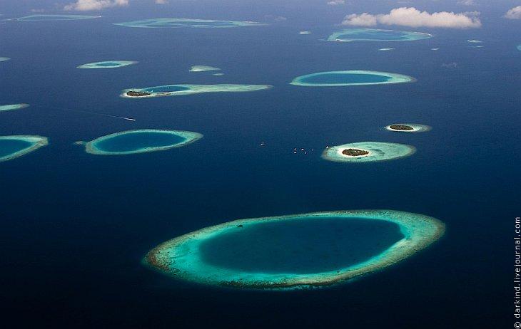 Мальдивы с высоты (34 фото)