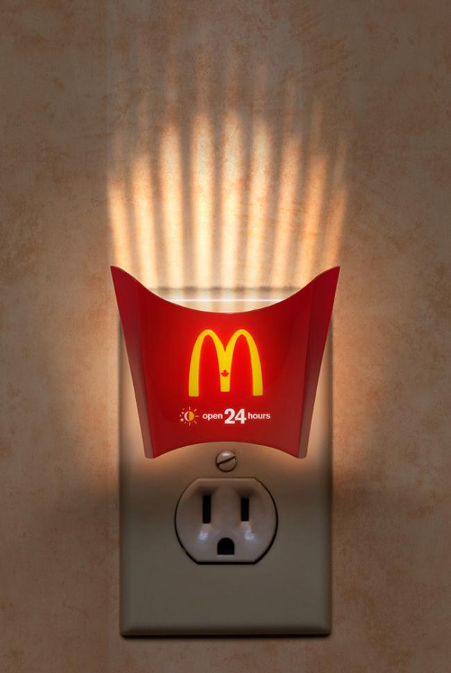 © mcdonalds      Снеки для зубов— иусобаки будет «более свежее дыхание,