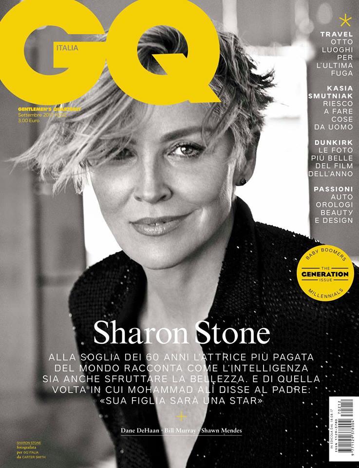 Шэрон Стоун для GQ