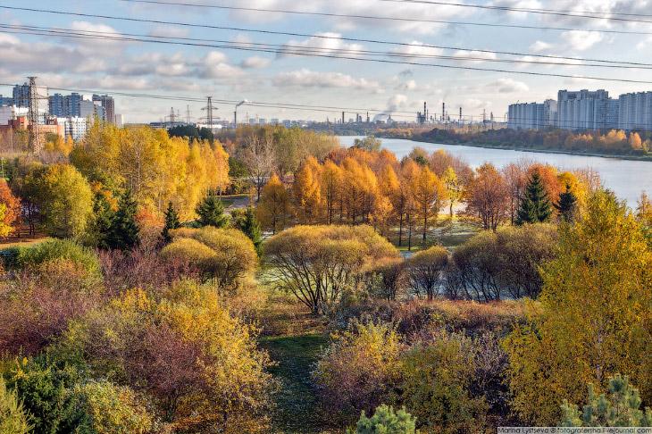 2. Вдоль Москвы-реки появилась площадка для пеших прогулок длиной 4,3 км.