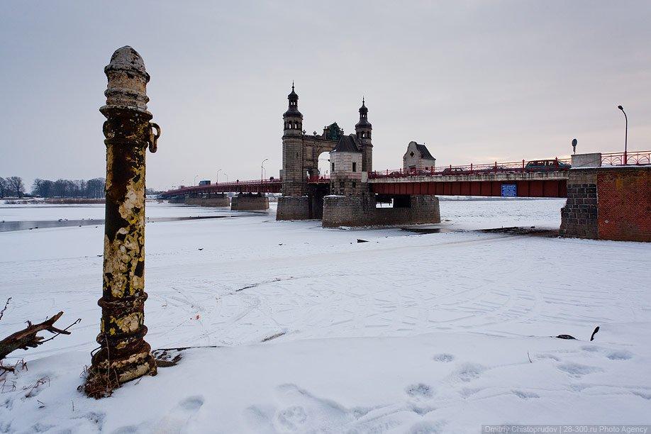 Так мост выглядел до войны: