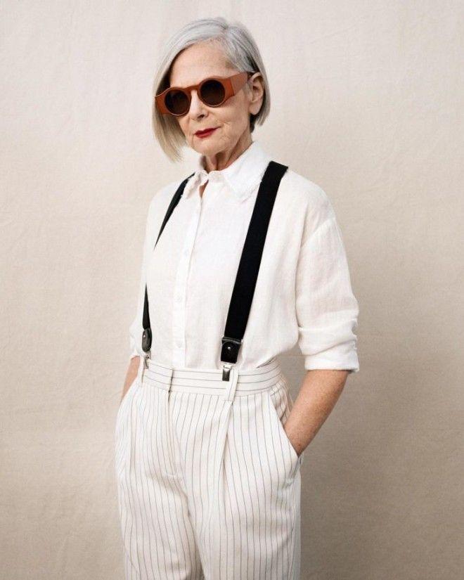 В отличие от двух предыдущих леди, Лин Слатер с модной индустрией никогда не была