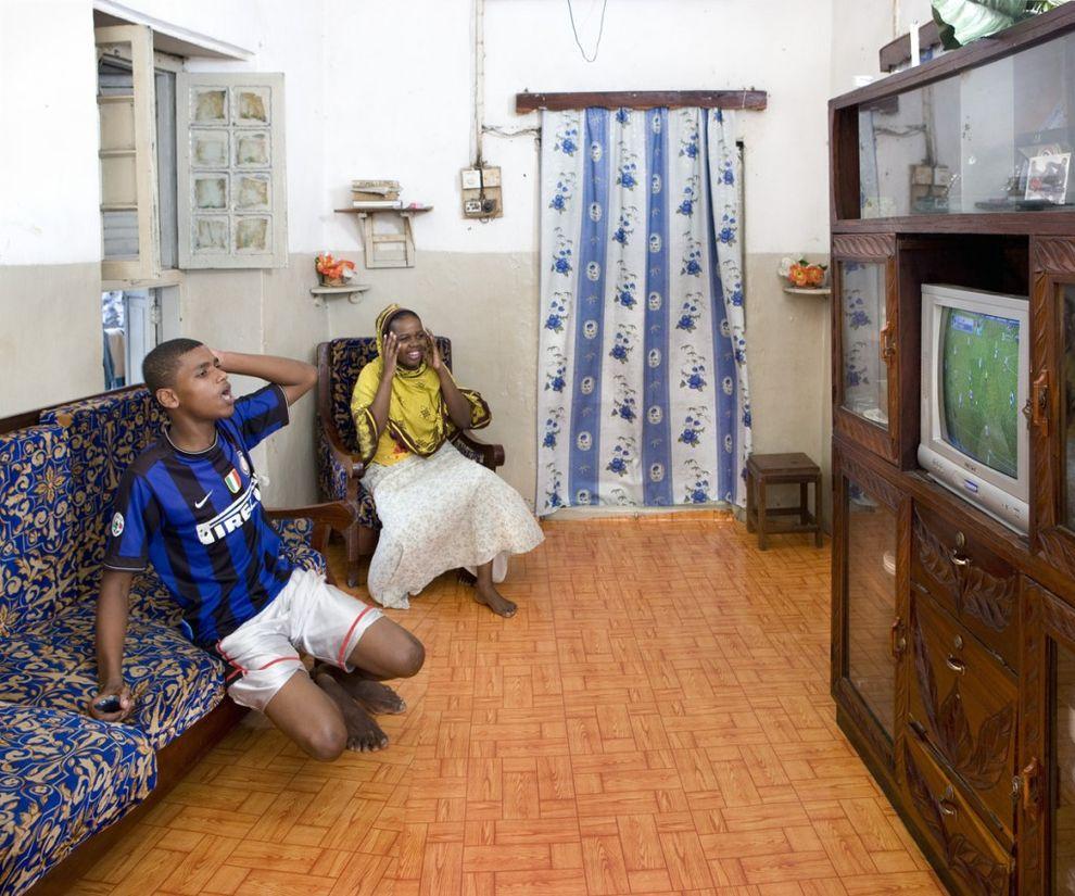 14. Мохаммед и Мосси, 20 лет и 22 года, Дар-эс-Салам, Танзания   Мохаммеду 20 лет, и он болеет