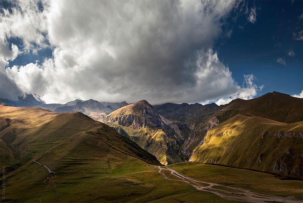 37. К сожалению, фотография не может передать всего величия и силы гор, но она может вдохновить вас