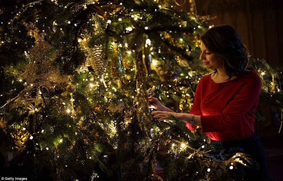 Букингемский дворец неузнаваемо преобразился на Рождество