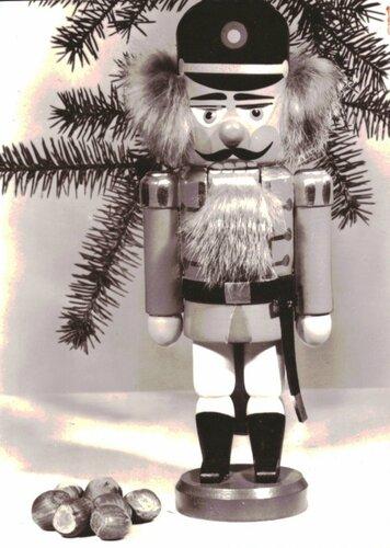Счастливого Рождества и с Новым годом_немецкая открытка