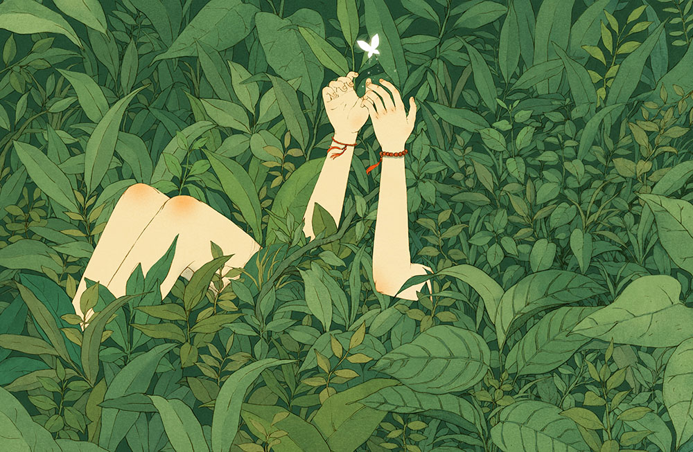 Fairy Illustrations by Jin Xingye (10 pics)