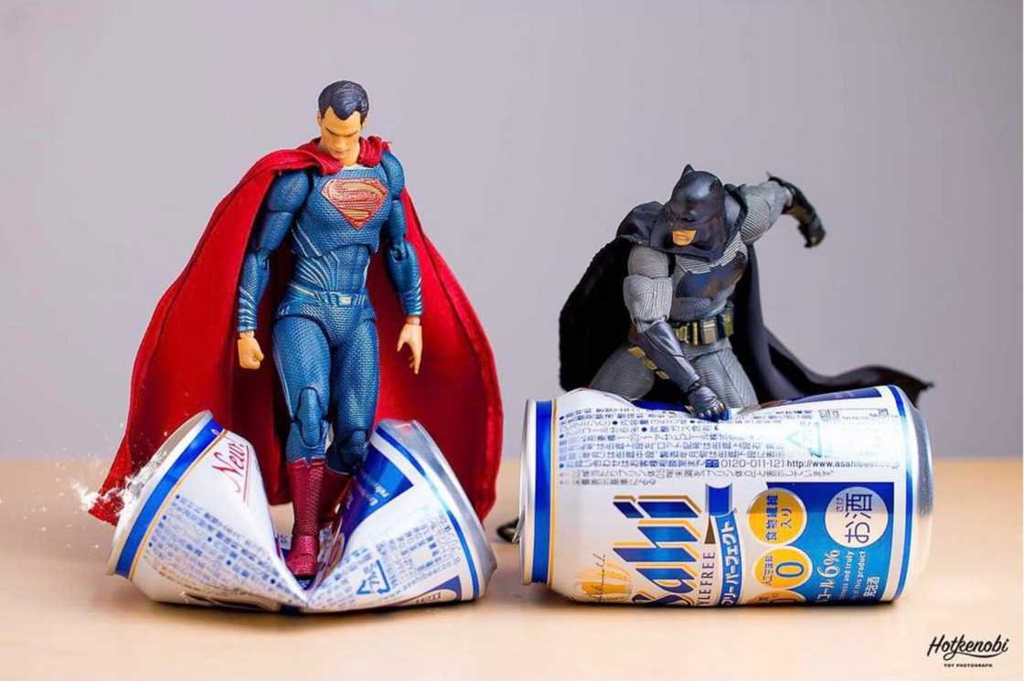 Action Toys - When a Japanese photographer captures his toys