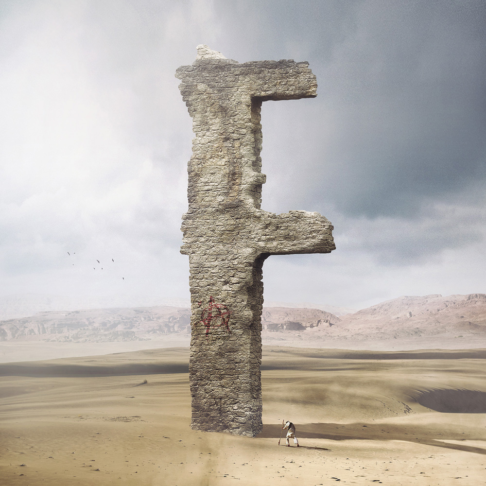 Surreal Typography Creations