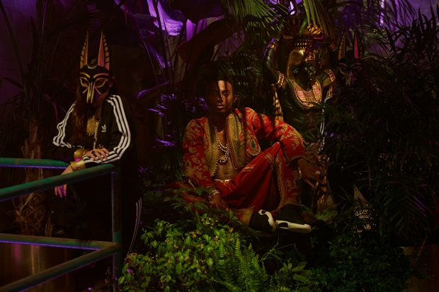 KENDALL, YOUNG THUG, PLAYBOI CARTI in Adidas Originals Video
