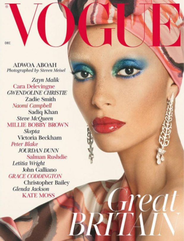 Edward Enninful Shares His 1st Cover of British VOGUE (2 pics)