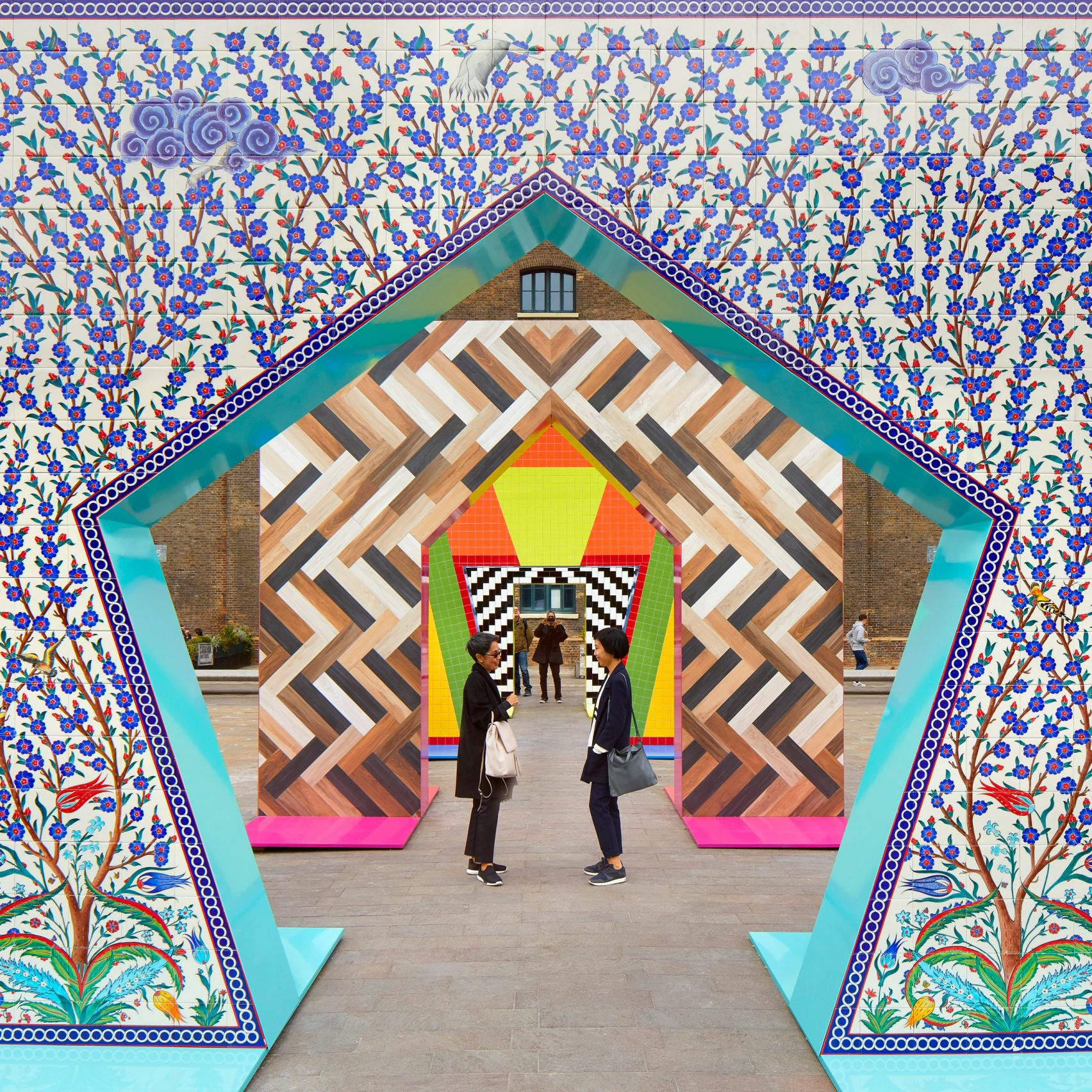 Stunning Ceramics Gateways by Adam Nathaniel Furman