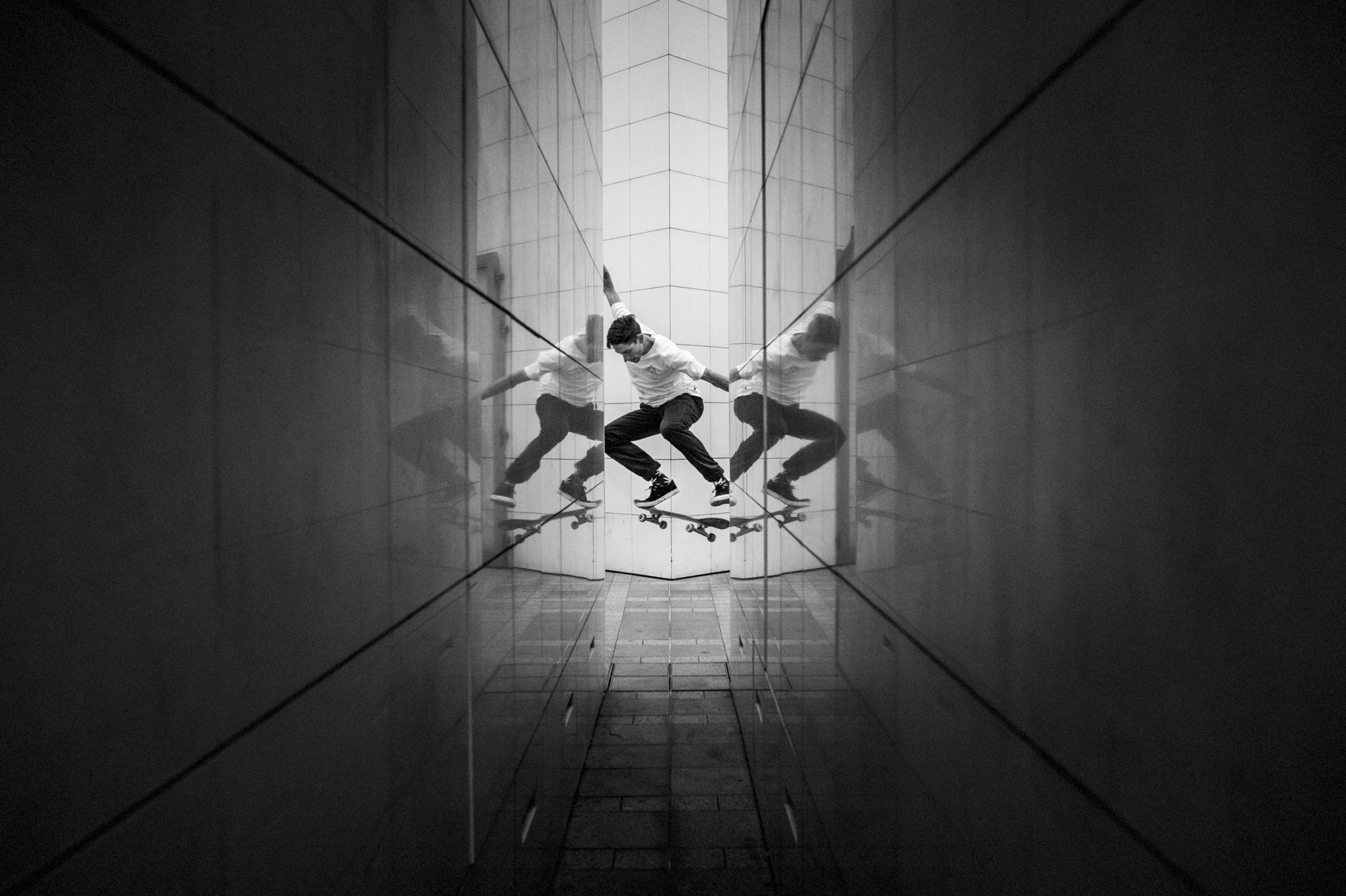 Beautiful Monochrome Skate Photographs