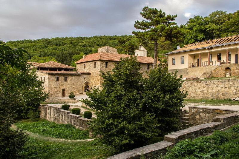 Вид на комплекс монастыря Сурб-Хач