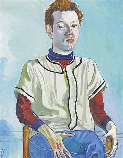 Портрет  юноши (Элис  Нил).