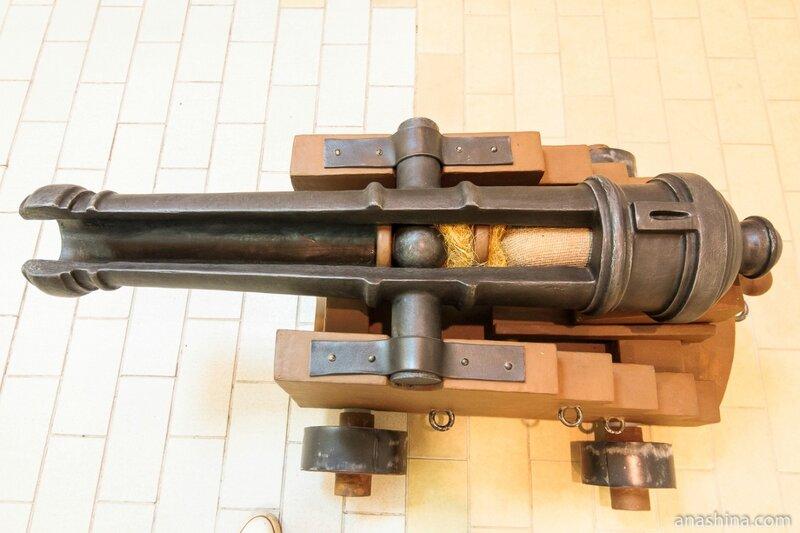 Пушка в разрезе, Музей промышленно истории Петрозаводска