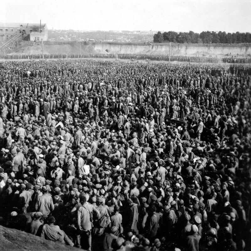 «Красная звезда», 28 сентября 1941 года, советские военнопленные, русские пленные, русские в плену, пленные красноармейцы, зверства фашистов над пленными красноармейцами