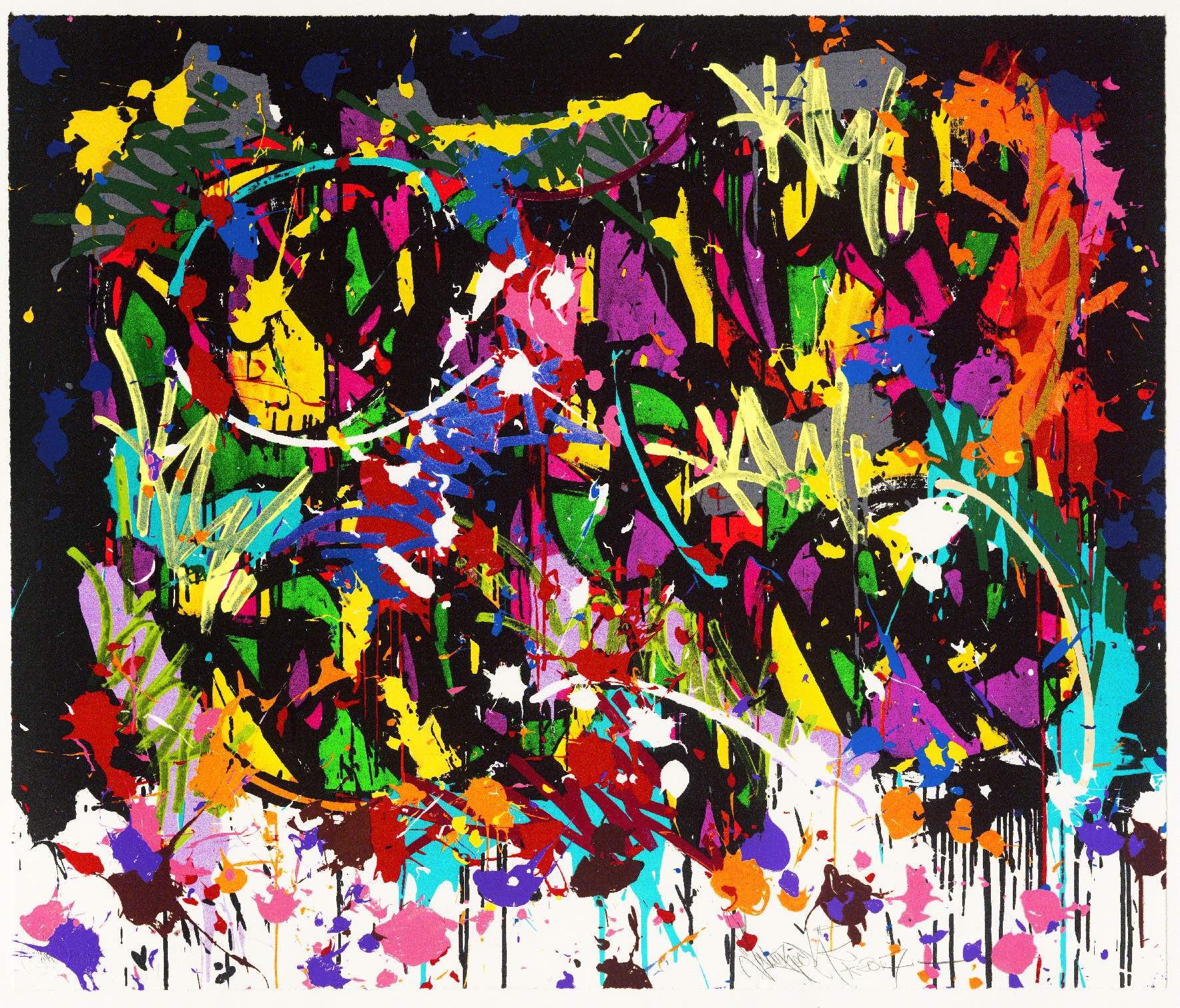 "Releases: JonOne – ""The Fall"" Lithograph (5 pics)"