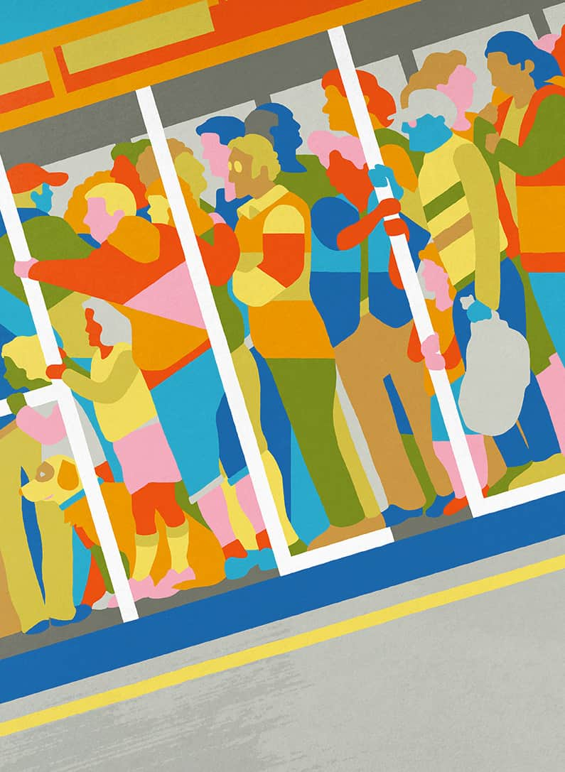 Colorful Illustrations by Pete Reynolds