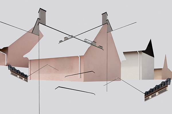 Unstructured Architecture by Patric Dreier