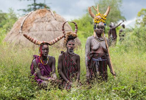 Эфиопия: Долина Омо и ее обитатели
