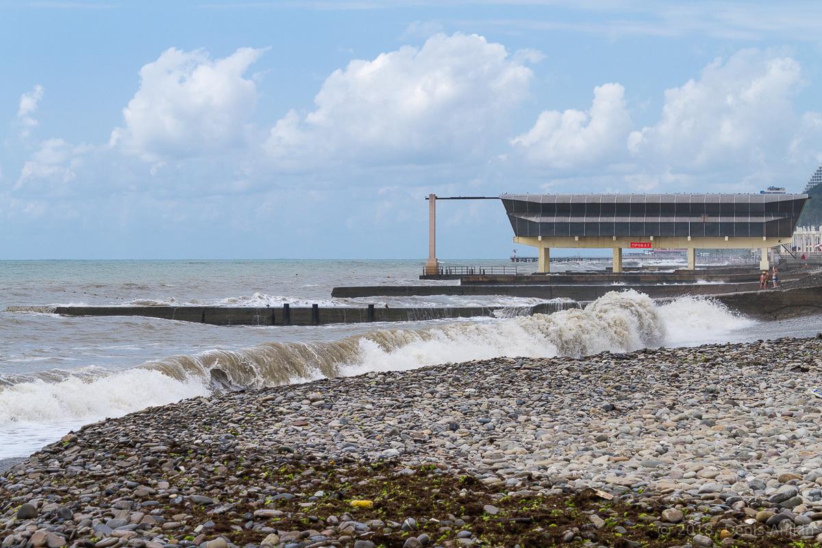 сочи черное море шторм фото 2