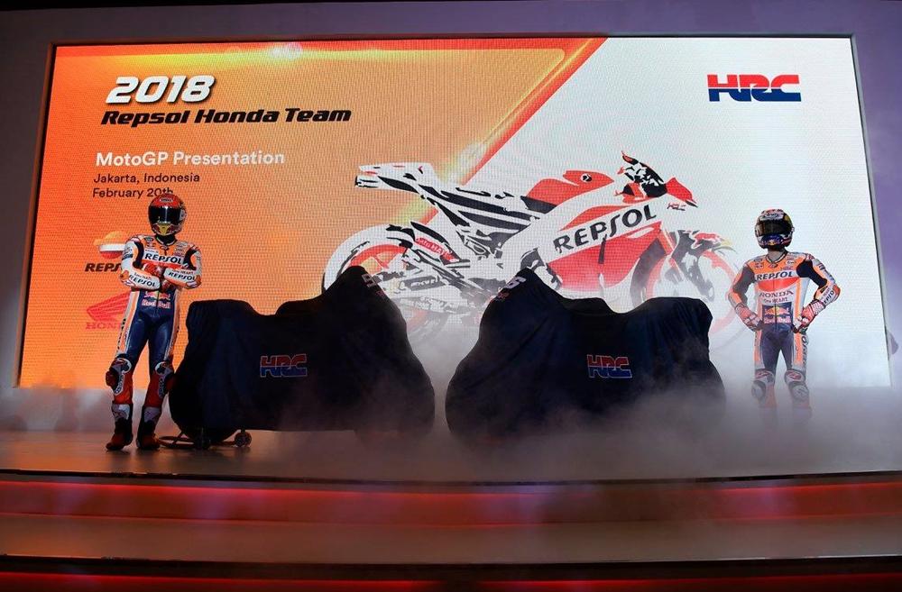 Презентация прототип Honda RC213V 2018
